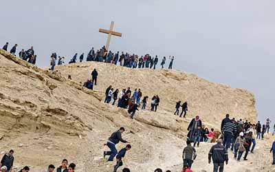 Retiro: Tierra Santa y nuestra vida como peregrinación
