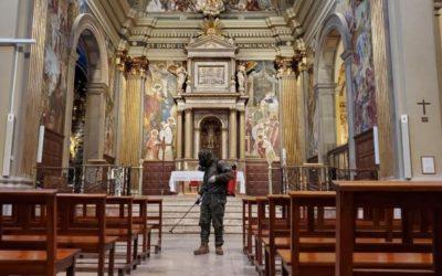 Normas de la parroquia para las misas públicas con fieles