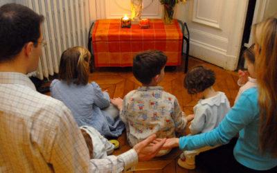 Guía para vivir en familia la Semana Santa