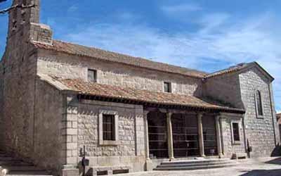 El templo parroquial